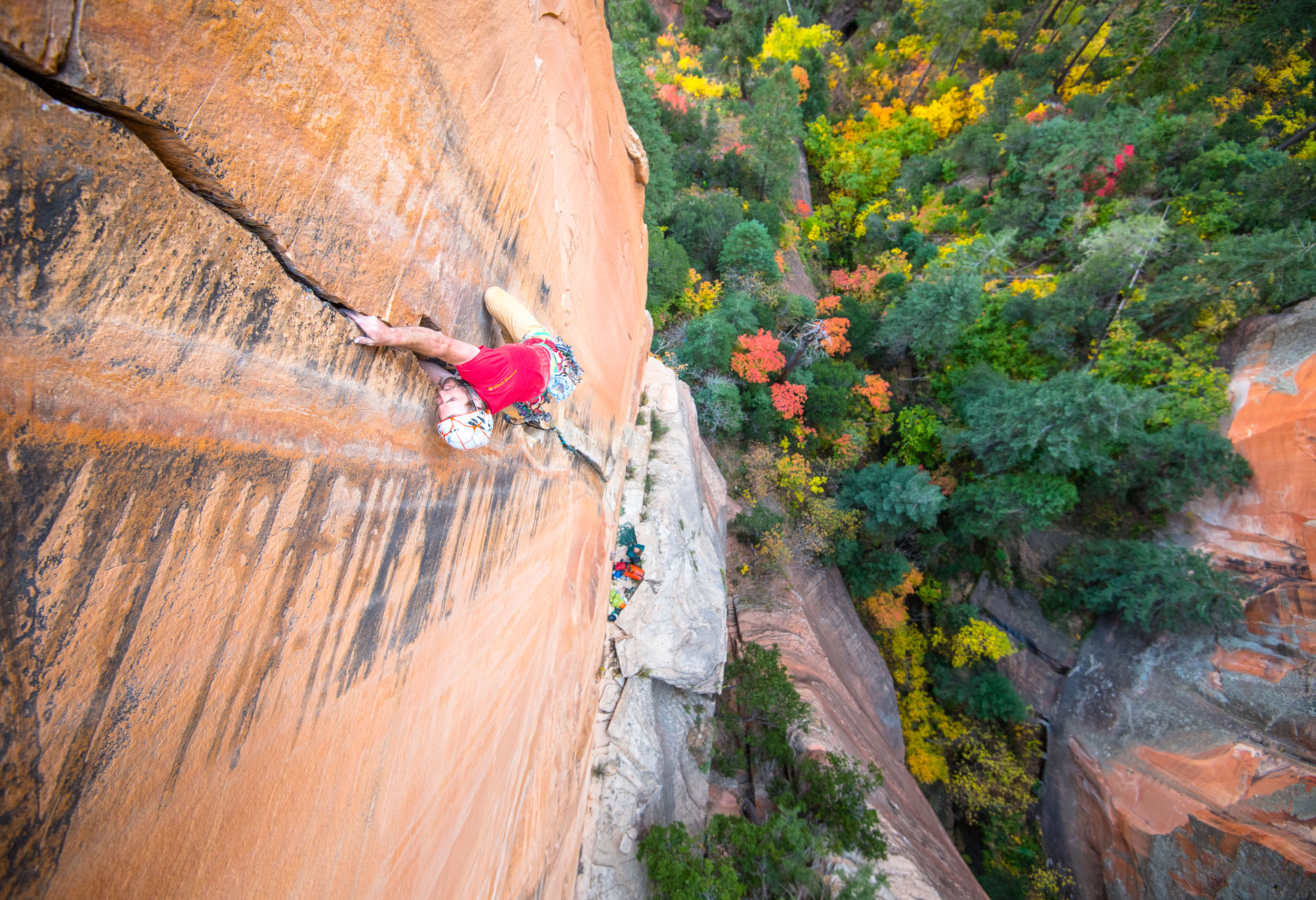Jeff Snyder on the Third Pitch of Life Without Parole (5.12-)
