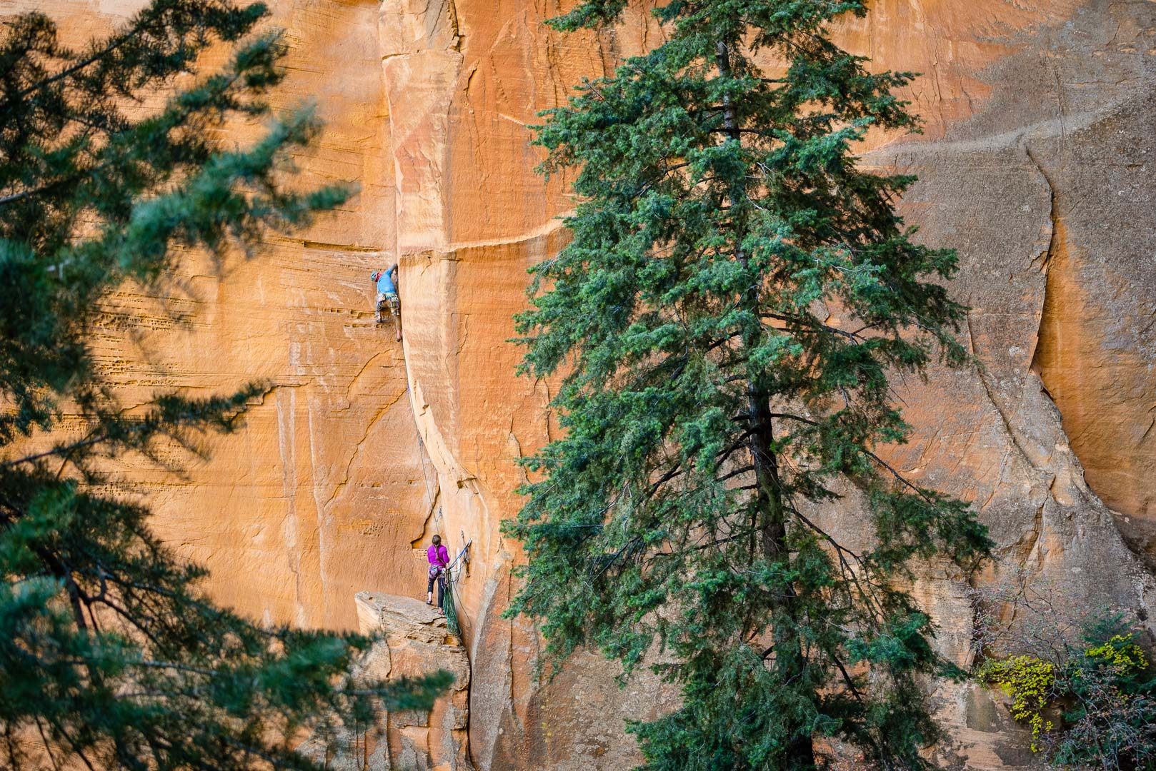 Jeff Snyder and Ashley Maryn on Forget Jaws | Oak Creek Canyon, Az